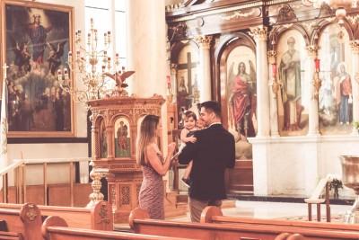 Nina's Baptism